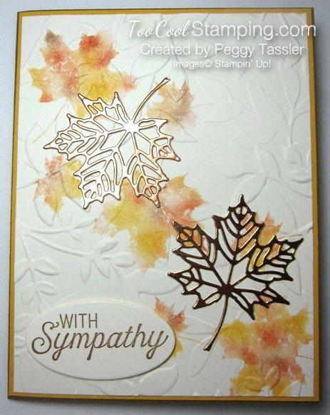 Peggy - colorful seasons fall sympathy