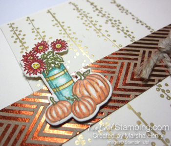 Marsha - fancy foil at home with you 2