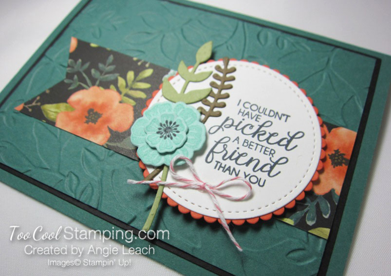 Whole Lot of Lovely Leaves Bouquet - tranquil tide 2