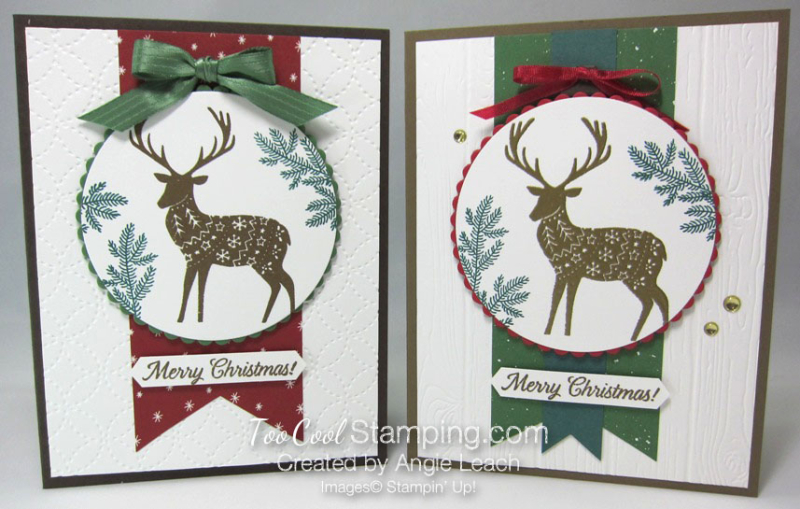 Merry patterns christmas reindeer - two cool