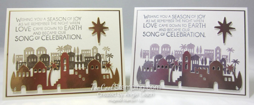 Night in bethlehem elegant foils - two cool