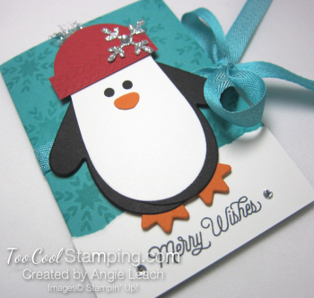 Many mittens penguin gift card holder - bermuda 2