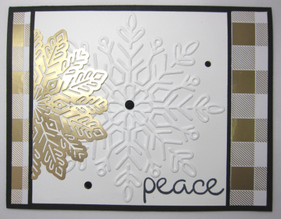 Marsha - peace & winter wonder