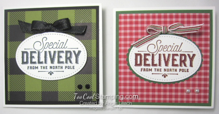 Special Delivery Corner Pop-Up Card - two cool