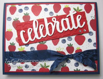 Tutti frutti celebrate you - strawberry