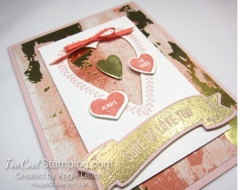 Sure do love you recessed hearts - powder 2
