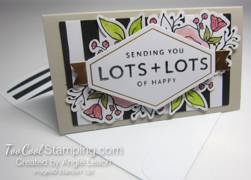 Lots of happy - mini note