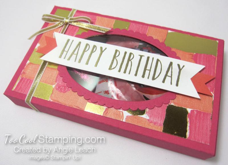 Lots to love birthday window box - coral 2