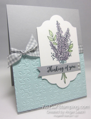 Lots of Lavendar Thinking of You - smoky slate