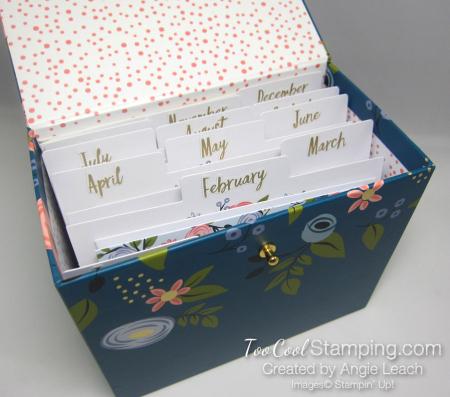 Perennial birthday box with inserts