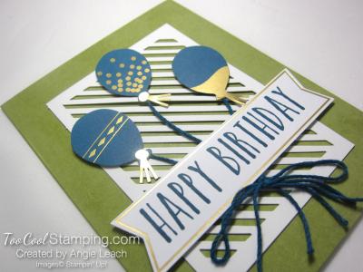 Perennial birthday kit - olive balloons 2