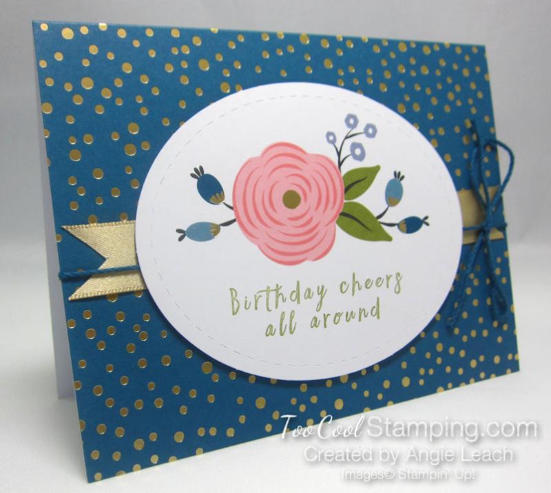 Perennial birthday kit - denim blooms