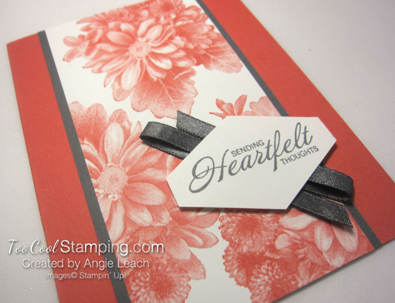 Heartfelt tailored tag - coral 3