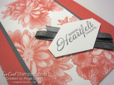 Heartfelt tailored tag - calypso 2