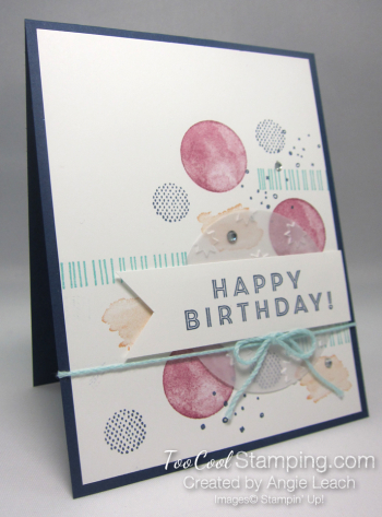 Eclectic expressions birthday - navy