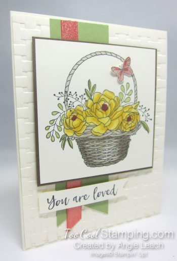 Blossoming basket bundle - daffodil
