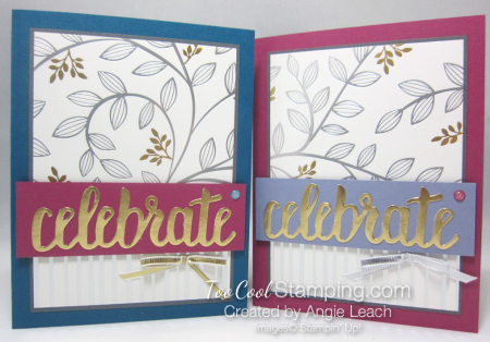 Celebrate springtime foils - two cool