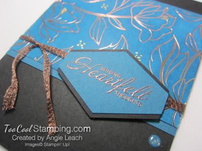 Springtime foils inked - denim 3