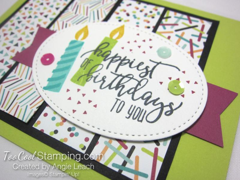 Picture Perfect Confetti Birthday - lime 2