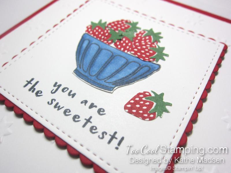 Fruit Basket Sweet Strawberries 2 - Kathe