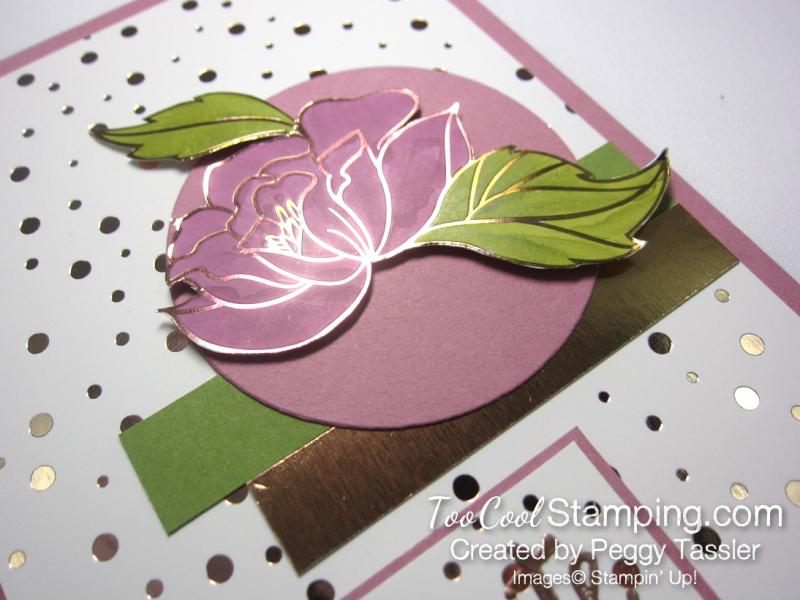 Peggy - springtime foils die-cut flower 2