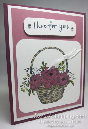 Jeanie - blossoming basket sugarplum
