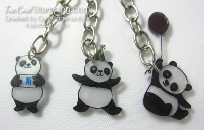 Darla party panda zipper pull 2