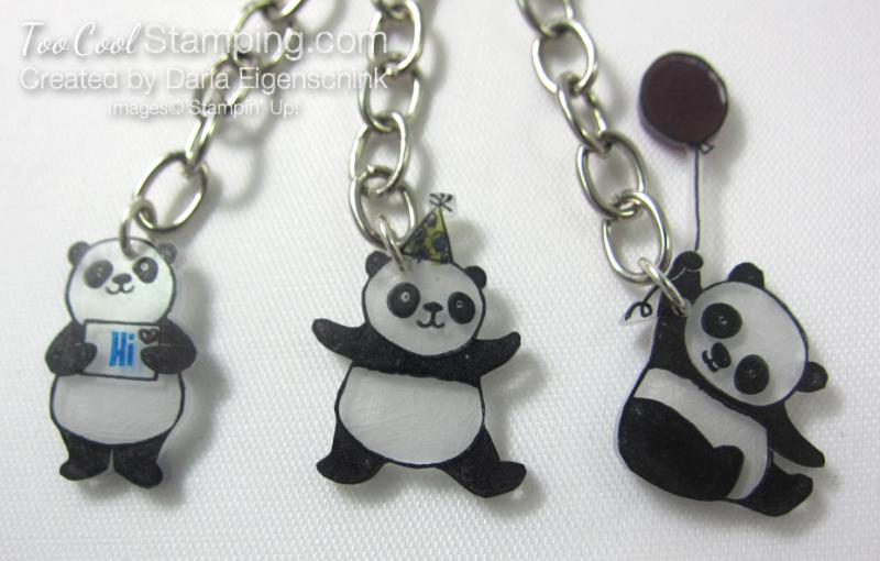 Darla party panda zipper pull 2