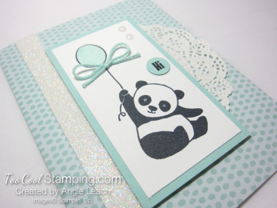 Party panda tutti frutti - soft sky 2