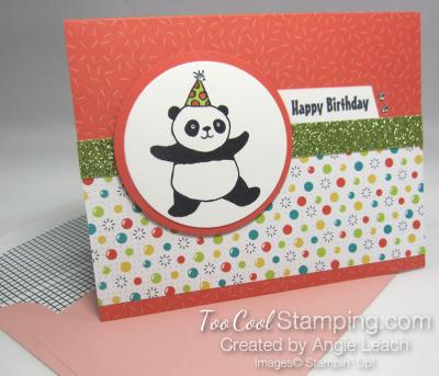 Party panda tutti frutti - calypso coral