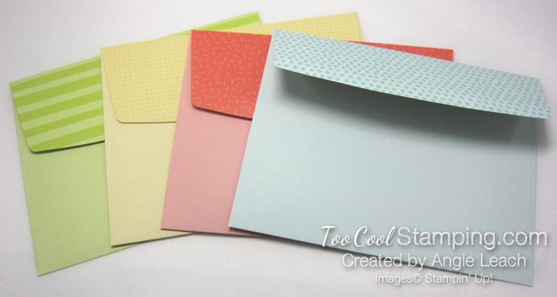 Tutti frutti envelopes