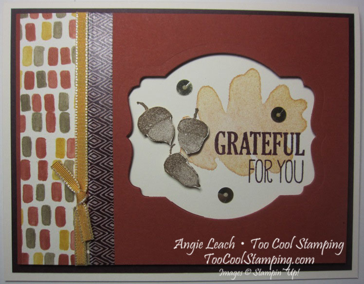 Deco window - grateful for you