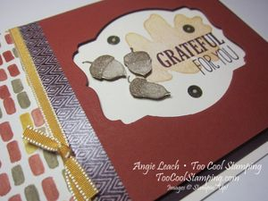 Deco window - grateful for you 2
