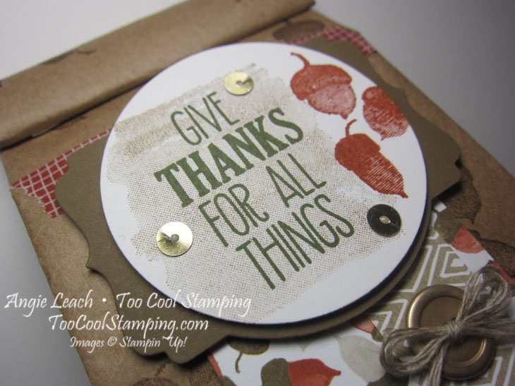 Cafe bags - give thanks 2