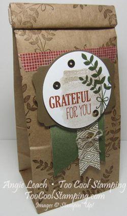 Cafe bags - grateful