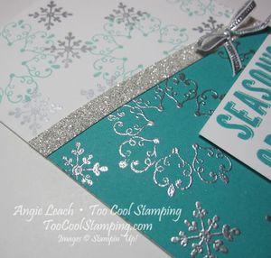 Letterpress bermuda diagonal - seasons greetings 4