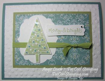 Merry & bright tree - h