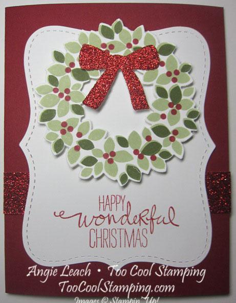 Wondrous wreath top note - cherry