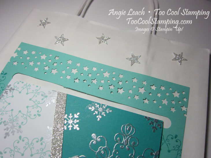 Letterpress snowflake card hanger2