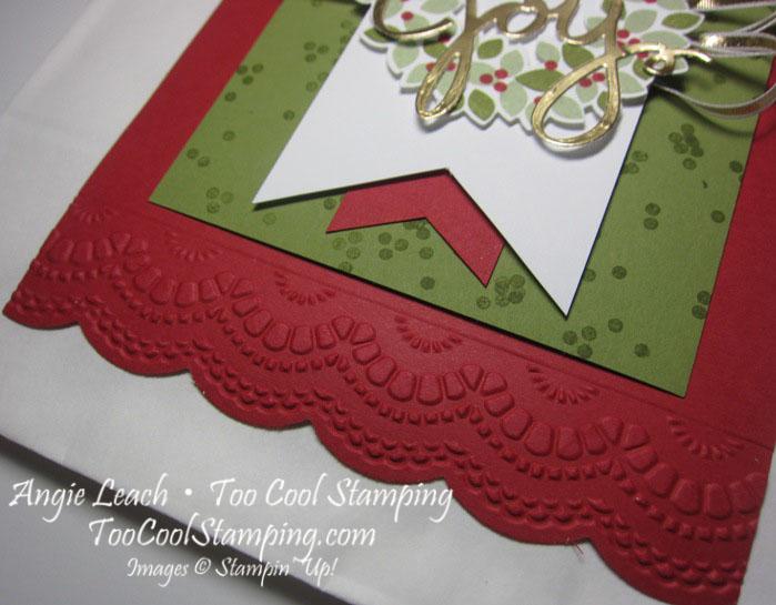 Wondrous wreath joy card hanger2