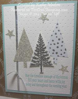 Kathe - festival trees white & silver copy