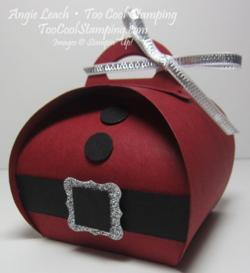 Santa buckle - curvy keepsakes
