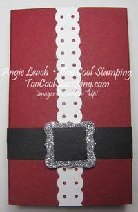 Santa buckle - gum holder
