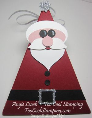 Santa buckle - triangle box