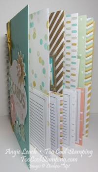 Card organizer - inside fan