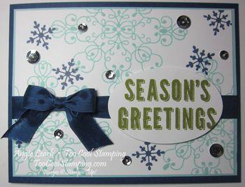 Letterpress greetings - olive h
