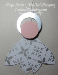 Gift bow - angel step 3