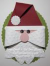 Gift bow - santa 1