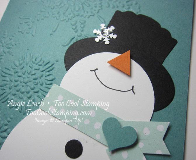 Snowman - warm my heart 2