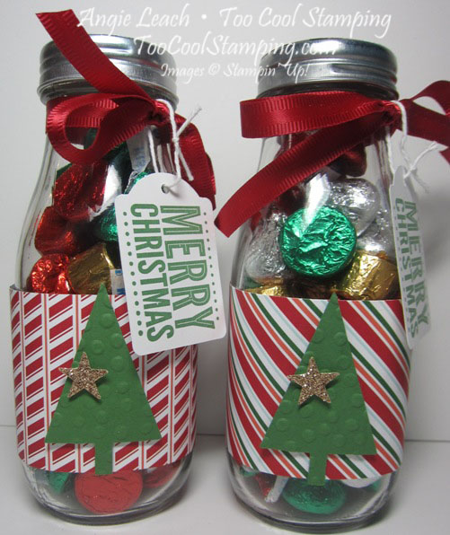 Neighbors gift - candy jars 6